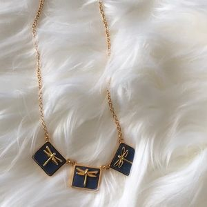 Nwot Tory Burch dragon fly necklace
